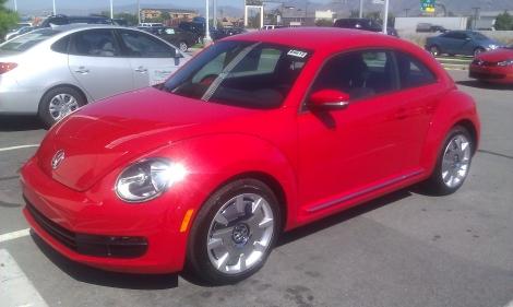 2012 VW Beetle at VW Southtowne Utah
