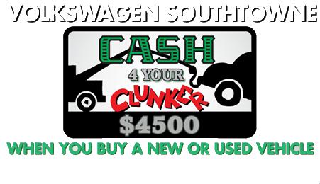 cash 4 clunkers salt lake city utah - VW Southtowne Utah