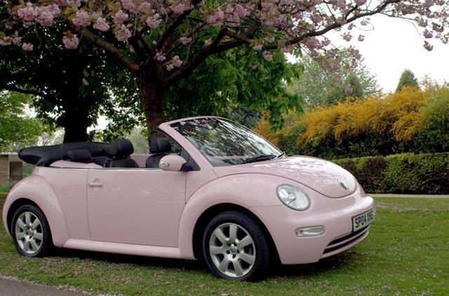 light pink vw beetle volkswagen utah