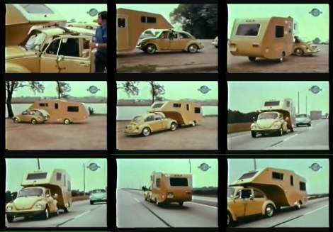 Vw Beetle, VW camper, VW Trailor hitch, trailor hitch, camper, 1974,360 motion