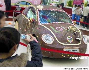 Vw Chocolate Beetle, Valentines,