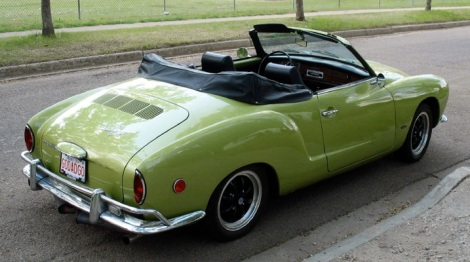 Green Volkswagen Karmann Ghia,VW, VW steering wheel, Volkswagen, 1963 cars, 1963 Volkswagen, Karmann Ghia, Ghia, Karmann