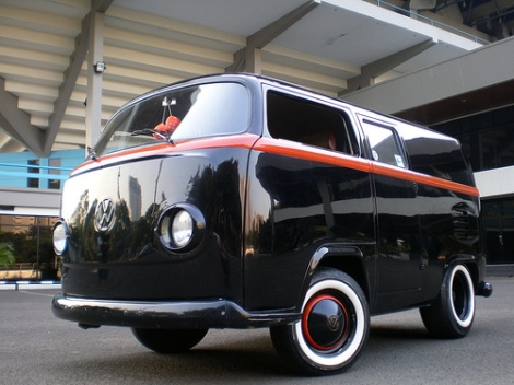 Volkswagen Bus, Volkswagen Mini, Volkswagen Mini Bus, Volkswagen modification, short bus