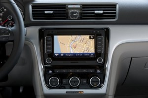 passat touch screen