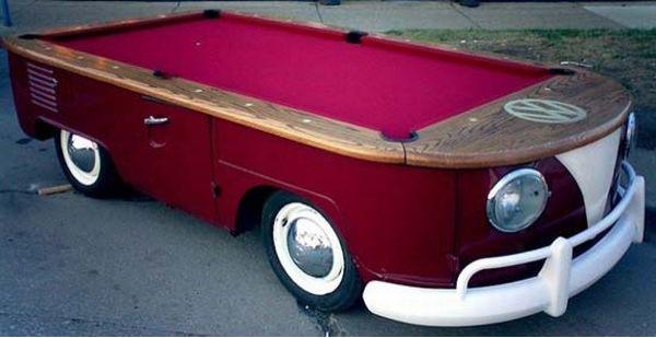 VW Bus Pool Table Volkswagen Utah - Pool table couch