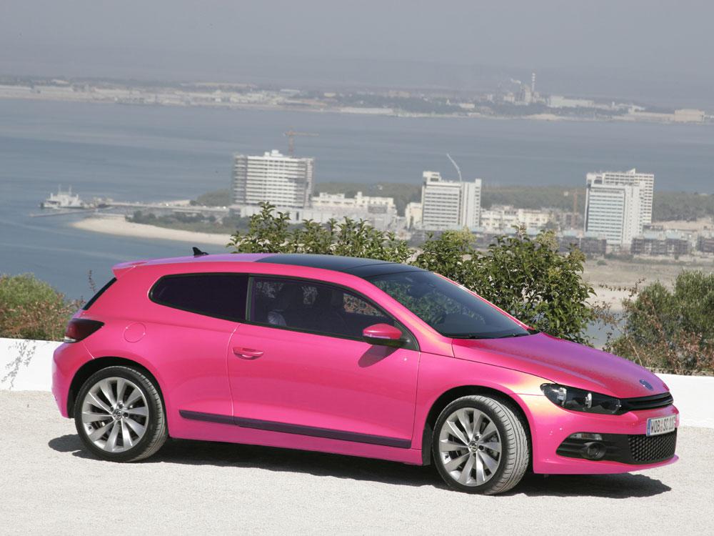 volkswagen scirocco hot pink volkswagen utah. Black Bedroom Furniture Sets. Home Design Ideas