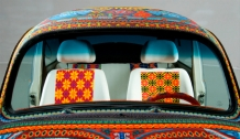 VW beaded beetle, VW beetle, VW mexico