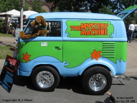Volkswagen Mini Bus, Volkswagen Beetle, Volkswagen Scooby Doo, Volkswagen mystery machine
