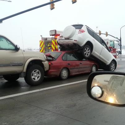 Utah accident, 114th south, South Jordan, Rav 4, Toyota