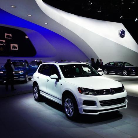 Touareg, VW, r-line