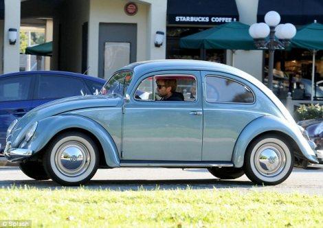 Vintage Beetle, Volkswagen Beetle, Punch Buggy, Celebrity, Ewan McGregor,