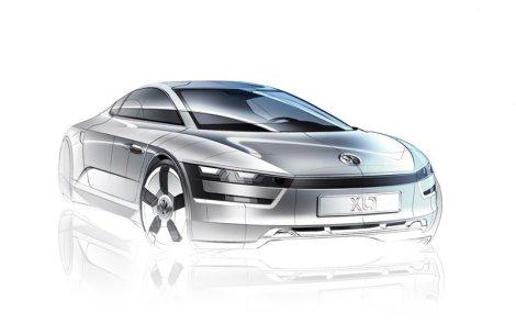 geneva auto show, Volkswagen, XL1, concept car