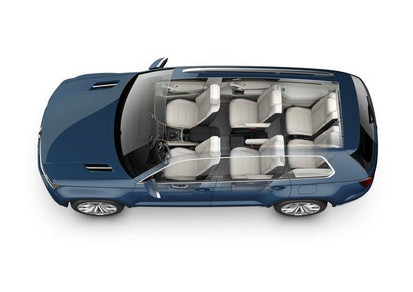 vw 7 passenger suv update detroit auto show 2014 volkswagen utah. Black Bedroom Furniture Sets. Home Design Ideas