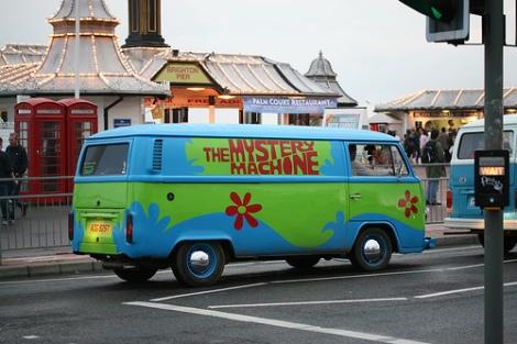 Volkswagen Beetle, Volkswagen Scooby Doo, Volkswagen mystery machine
