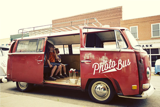 Pick a Prop! VW Photo Bus is open for business in Kansas City, St. Louis, and Dallas-Fort Worth ...