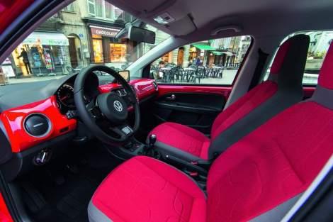 Volkswagen, VW Up!, Up! Cross up interior, vw interior