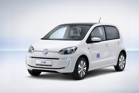 Volkswagen, E-up!, Up!, VW, Electric car, electric motor