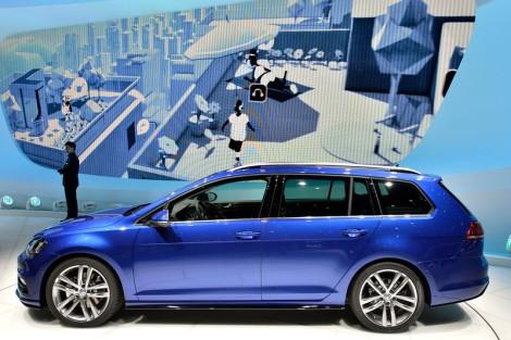 Volkswagen, VW, Auto Show, Geneva Auto Show, Blue, Golf, Concept, Estate, Estate Wagen