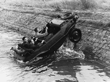 VW, Volkswagen, Type 166, Schwimmwagen