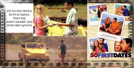 VW Thing, 50 First Dates, Yellow Thing, 1973 VW Thing