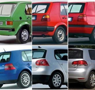 Vw golf, Golfs, Volkswagen, Volkswagen golf, rear golf