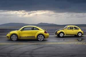 VW, Volkswagen, Old Beetle, New Beetle, Yellow Beetle, punch bug