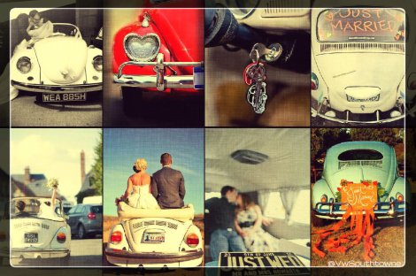 Vw, Volkswagen, VW Beetle, VW wedding, VW marriage, just married, married vw