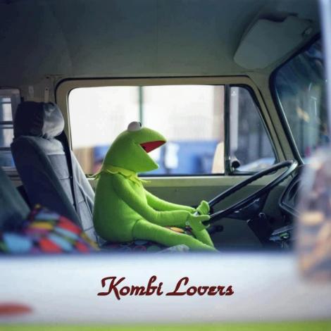 Kermit, Kombi, VW bus, Volkswagen transporter