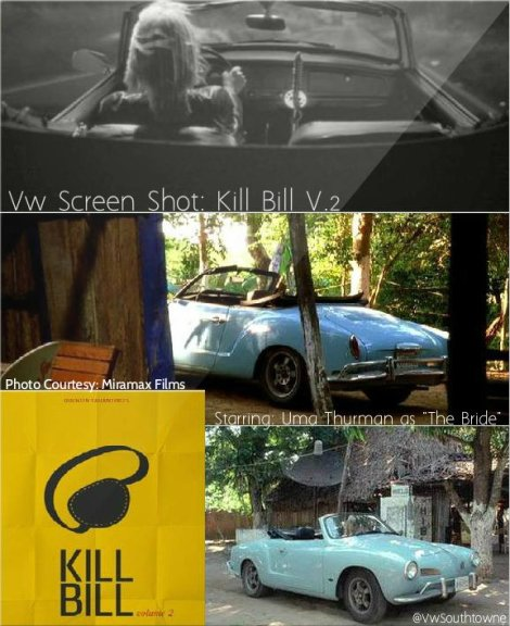 VW karmann Ghia Kill Bill
