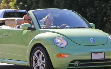 VW, Beetle, VW slug bug Klum,Heidi Klum VW,Heidi Klum Beetle