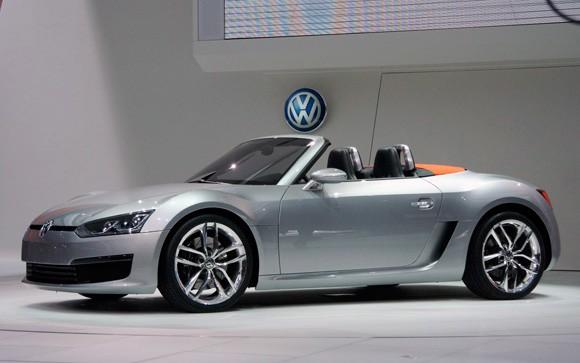 Volkswagen Blue Sport Roadster Concept Volkswagen Utah