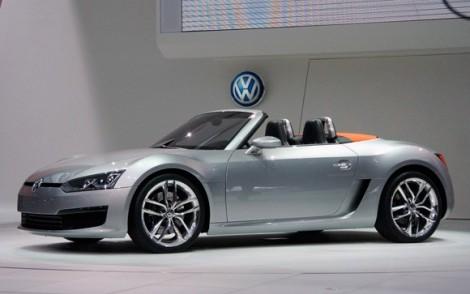 VW, Volkswagen concept, VW convertible, VW bluesport concept