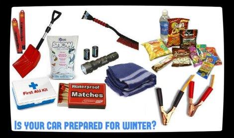 car prepare winter, winter car items, things for car in winter, winter preparedness