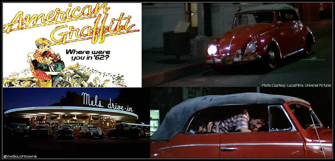 Volkswagen In The Movies American Graffiti Volkswagen Utah