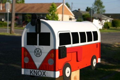 VW Bus Mail Box