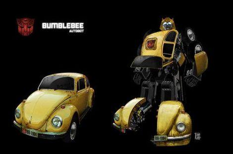 Transformers, original transformer, vw beetle bumblebee, bumblebee beetle