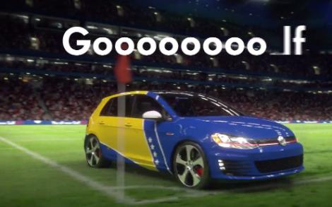VW Golf World Cup Goooal