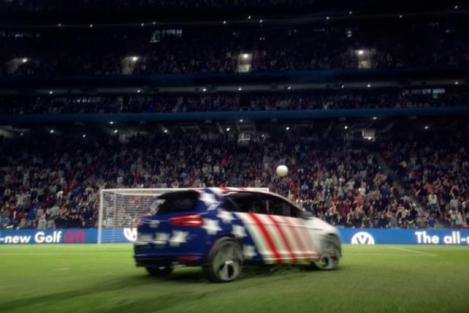 VW Golf World Cup GOOOOAAL
