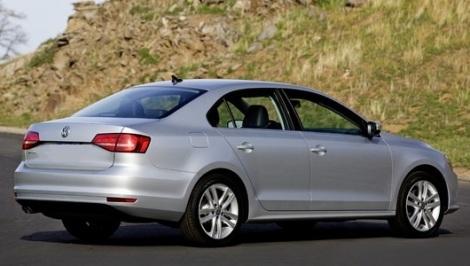 2015 VW Jetta Rear View