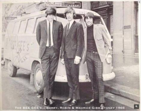 Bee Gees VW Bus