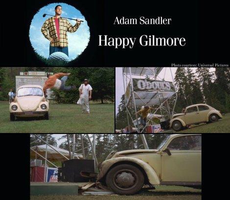 Happy Gilmore VW Beetle