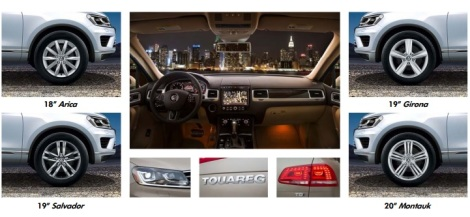 2015 Touareg Wheel packages