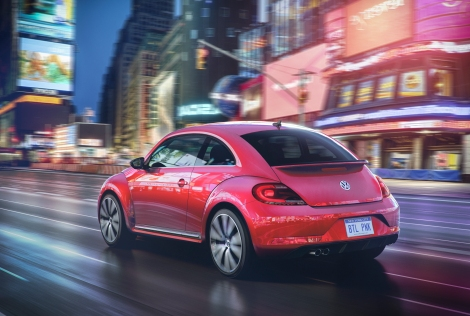 2017 VW #PinkBeetle PreProduction Model