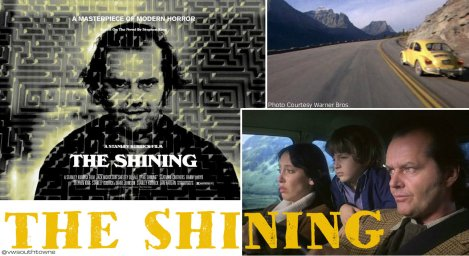 The Shining 1980 VW Yellow Beetle